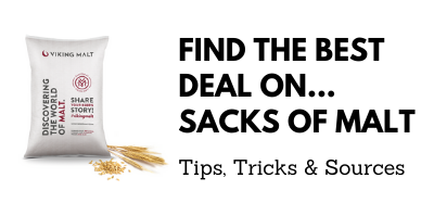deals on sacks of malt