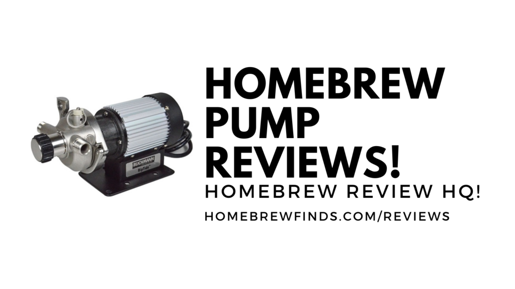 homebrewing pump reviews