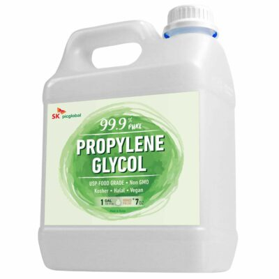 99.9% Pure Food Grade Propylene Glycol - More Than 1 Gallon - Moisturizer, Solvent and Humectant, for Fog Machines, Soaps, Lotions and Antifreeze Solution, Eco-Friendly, USP Certified, Kosher, Non-GMO