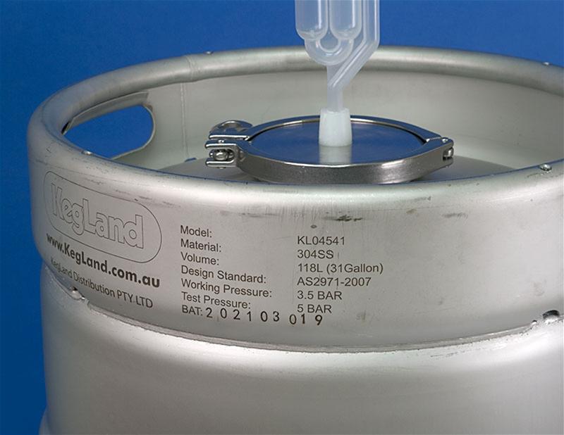 31 Gallon Kegland Kegmenter