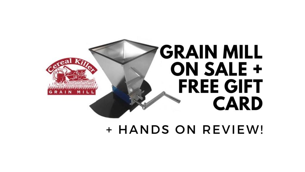 cereal killer grain mill deal