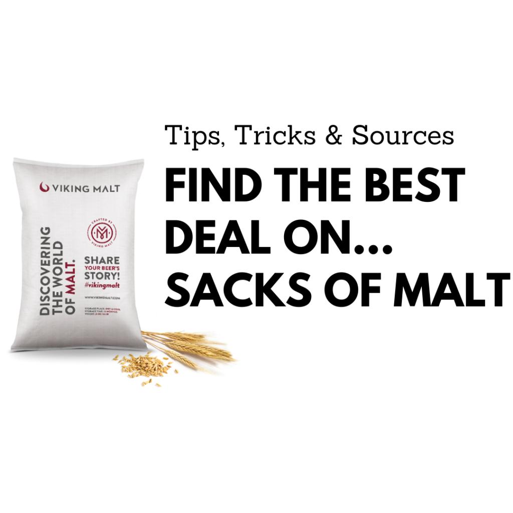homebrew sack malt deals