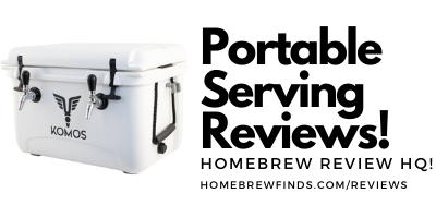 portable beer serving