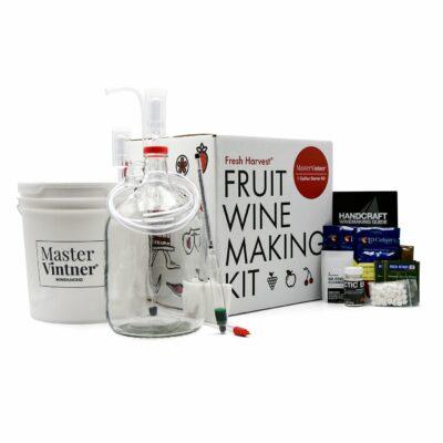 Master Vintner® Fresh Harvest® 1 Gallon Fruit Wine Making Kit