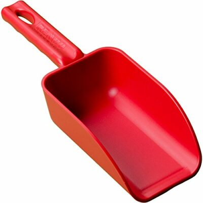 Remco 63004 Red Polypropylene Injection Molded Color-Coded Bowl Hand Scoop, 16 oz, 1 Piece