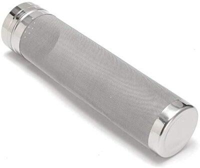 Fauge Beer Dry Hopper Filter,300 Micrometre Mesh Stainless Steel Hop Strainer Cartridge, Homebrew Hops Beer & Tea Kettle Brew Filter