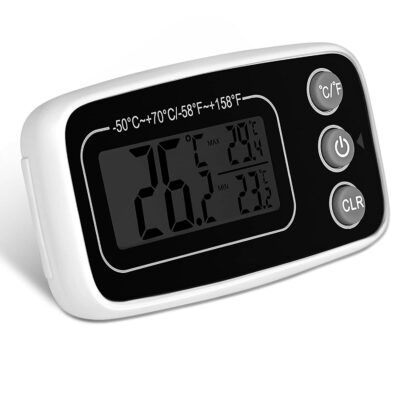 Refrigerator/Freezer Thermometer max and min Temperature Memory
