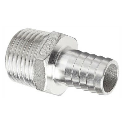 1/2b1/2mpt Male Hose Barb Adapters Stainless Steel NPT