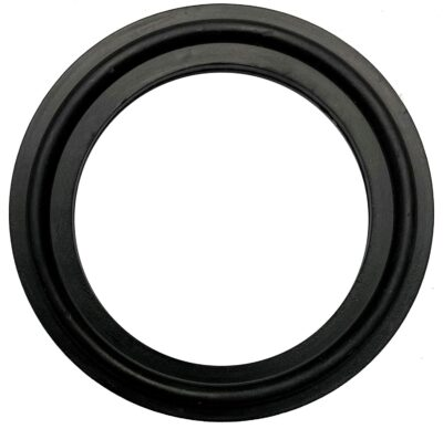"DR-COMPONENT 1.5"" Sanitary Standard Tri-Clamp Gaskets (Pack of 25),Black Buna-N (NBR)"