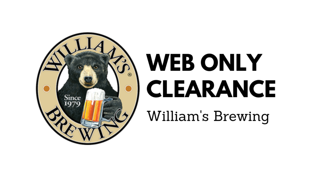 williams brewing clearance