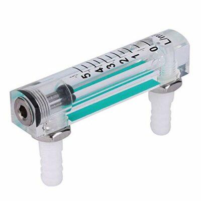 Flowmeter LZQ-1 Air Flow Rate Gauge 1~5LPM Oxygen Measuring Flowmeter Gauge