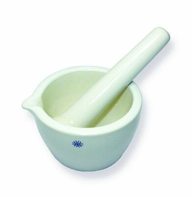 United Scientific JMD070 Porcelain Mortar & Pestle Set, 70mL