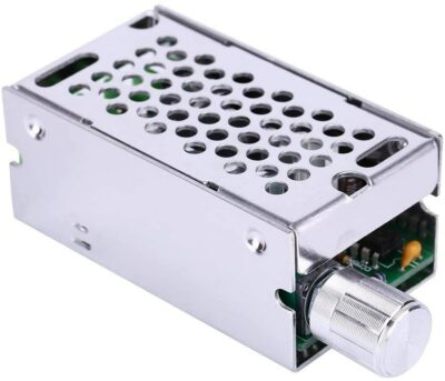PWM Motor Speed Controller DC 6V 9V 12V 24V 36V 48V 60V Pulse Width Modulation Regulator 10A 400W Stepless Variable Spee Forward and Reverse Switch DC Speed Regulation