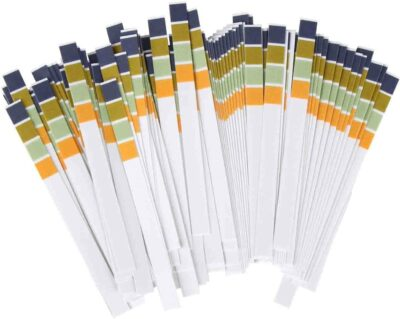 pH Test Strips 0-14, 0.5 Accuracy 100ct,