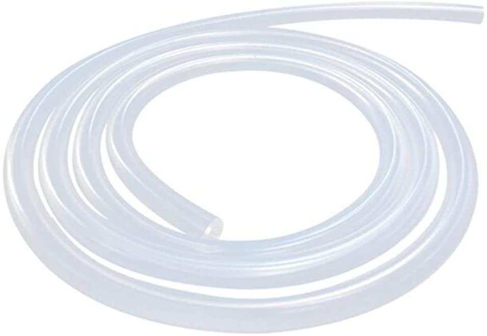 JUNZHIDA Silicone Tubing 5/16 Inch ID X 7/16 Inch OD Silicone Rubber Tube Food Grade for Pump Transfer, Homebrew Tube 10ft