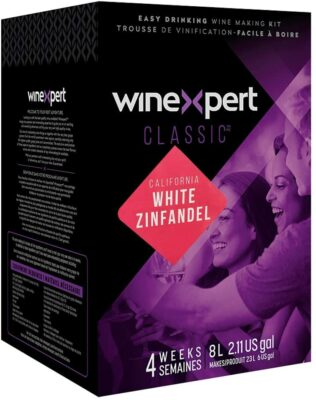 Classic California White Zinfandel Wine Ingredient Kit