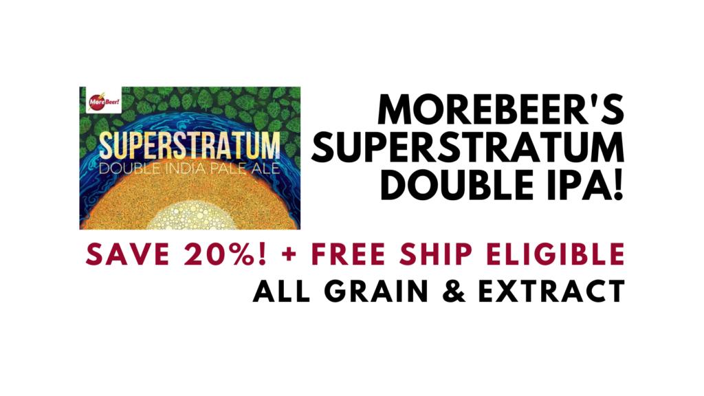 SuperStratum Hazy Double Strata IPA